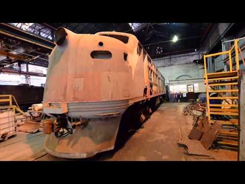 Victorian Railways B Class locomotive internal walk around