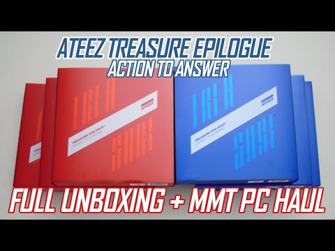 Download ATEEZ TREASURE EPILOGUE ACTION TO ANSWER FULL UNBOXING + MMT PC HAUL Mp4 baru