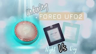 FOREO UFO2  unboxing | first impression review