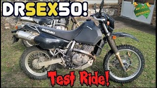 Suzuki DR650 Test Ride (I'm In Love!)