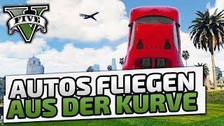 Autos fliegen aus der Kurve - ♠ GTA V Online Season 2 ♠ - Let's Play GTA V Online - Dhalucard