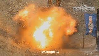 Взрывостойкие бронедвери, двери банковские, пуленепробиваемые входные двери
