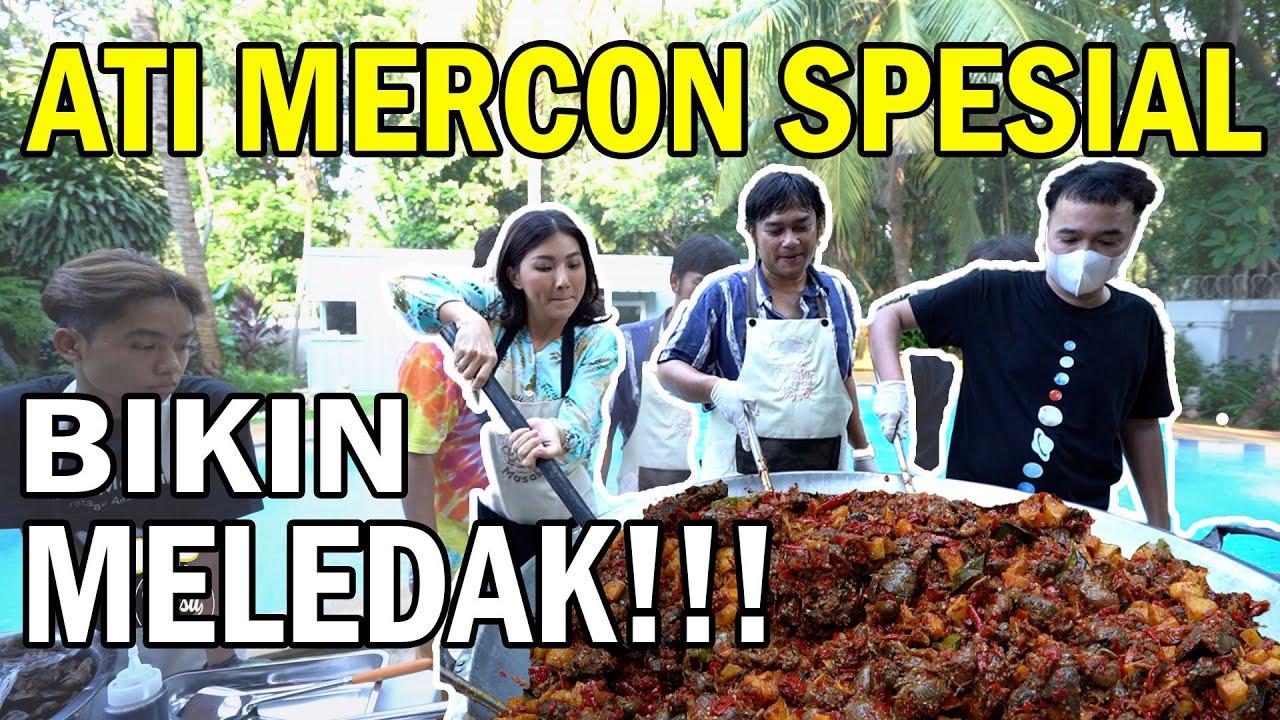 The Onsu Masak - Menggoda!! Sambel Goreng Ati Mercon Satu Rumah siap Antri !!!