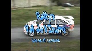 Vidéo Rallye du Val de l'Indre 2005