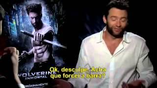 CQC entrevista Wolverine (Hugh Jackman) 2013