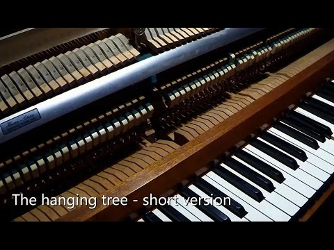 the hanging tree piano pdf