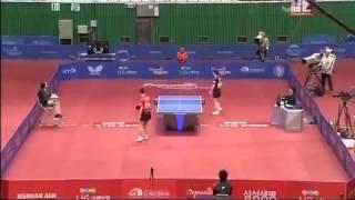 乒乓球]亚洲锦标赛 男单半决赛  松平健太(日本)VS马龙(中国)