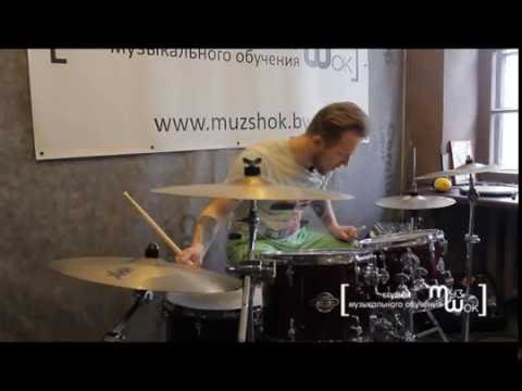 МК по игре на барабанах. Как играть быстро и держать ритм. Приёмко Валерий