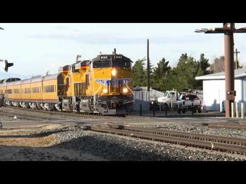 Union Pacific special executive passenger train in So Cal 3/3/15