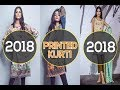 Printed Kurti Collection 2018 By Alkaram studio / New Designs / Buy Now