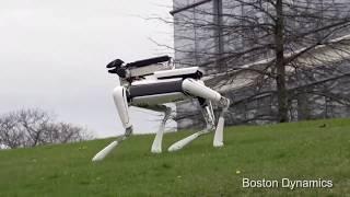 Top 4 favourite BostonDynamics videos