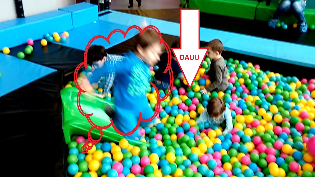 Ball pit fun for kids Video at indoor playground from KIDS TOYS