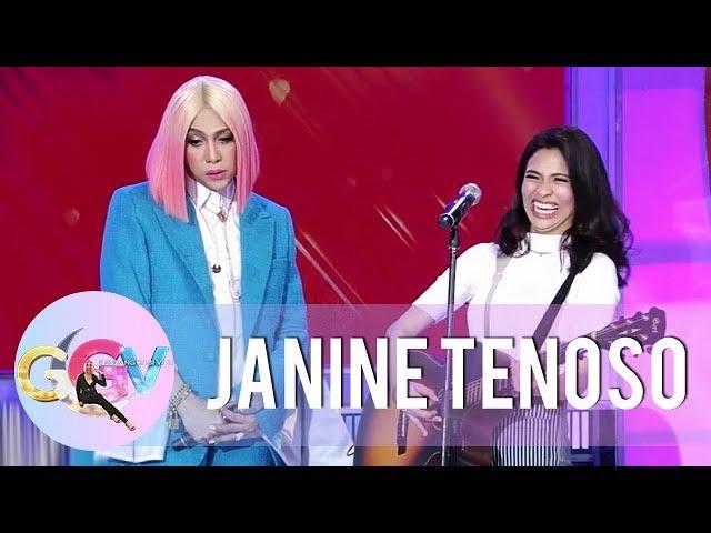 GGV: Vice Ganda sings Janine Teñoso's original song with a twist