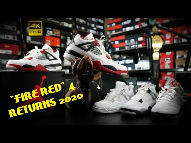 Air Jordan Retro 4 Fire Red Releasing Black Friday 2020 What To Expect Youtube