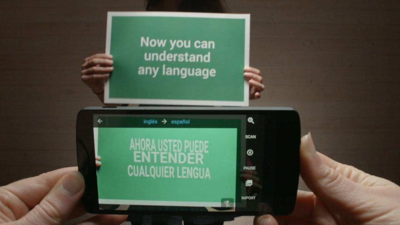 traductor ingles a español con camara