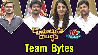 Video Krishnarjuna Yuddham Team Bytes | Nani | Rukshar Dhillon | Merlapaka Gandhi | NTV ENT download MP3, 3GP, MP4, WEBM, AVI, FLV Juli 2018
