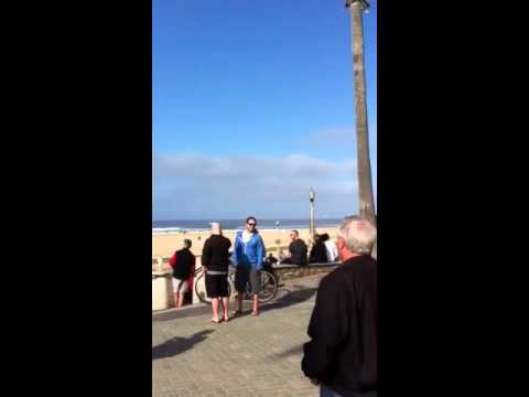 Tsunami Footage In Huntington Beach