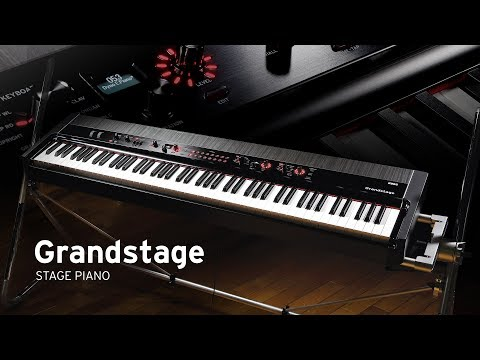 Korg Grandstage: Set Any Stage.