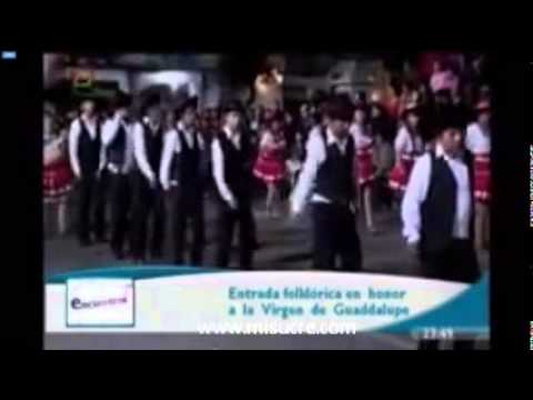 ENTRADA DE LA VIRGEN DE GUADALUPE SUCRE BOLIVIA 2014