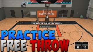 HOW TO BOOST YOUR FREE THROW RATING IN NBA 2K17!
