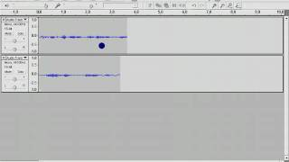 How to save audacity files as a mp3