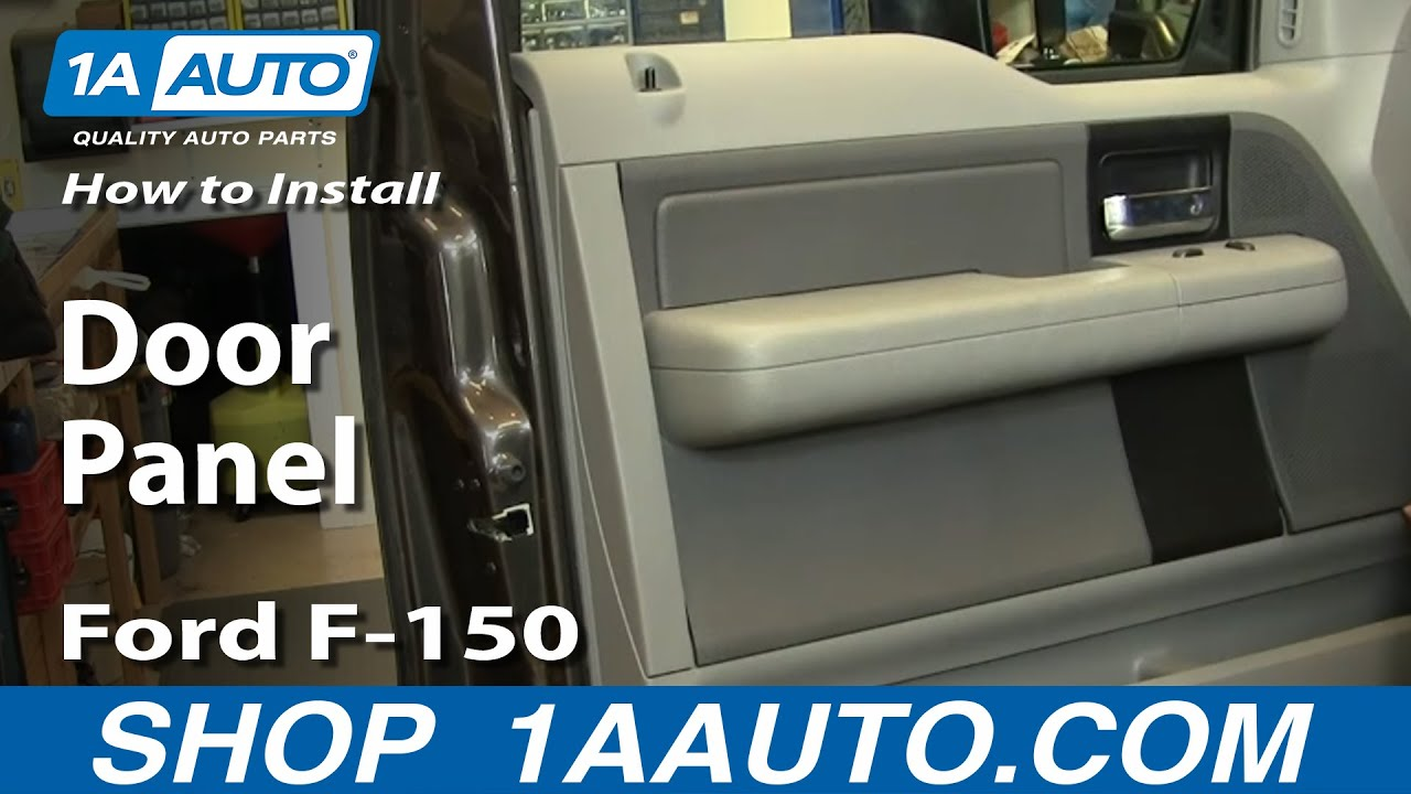 how to install replace door panel ford f 150 04 08 youtube. Black Bedroom Furniture Sets. Home Design Ideas