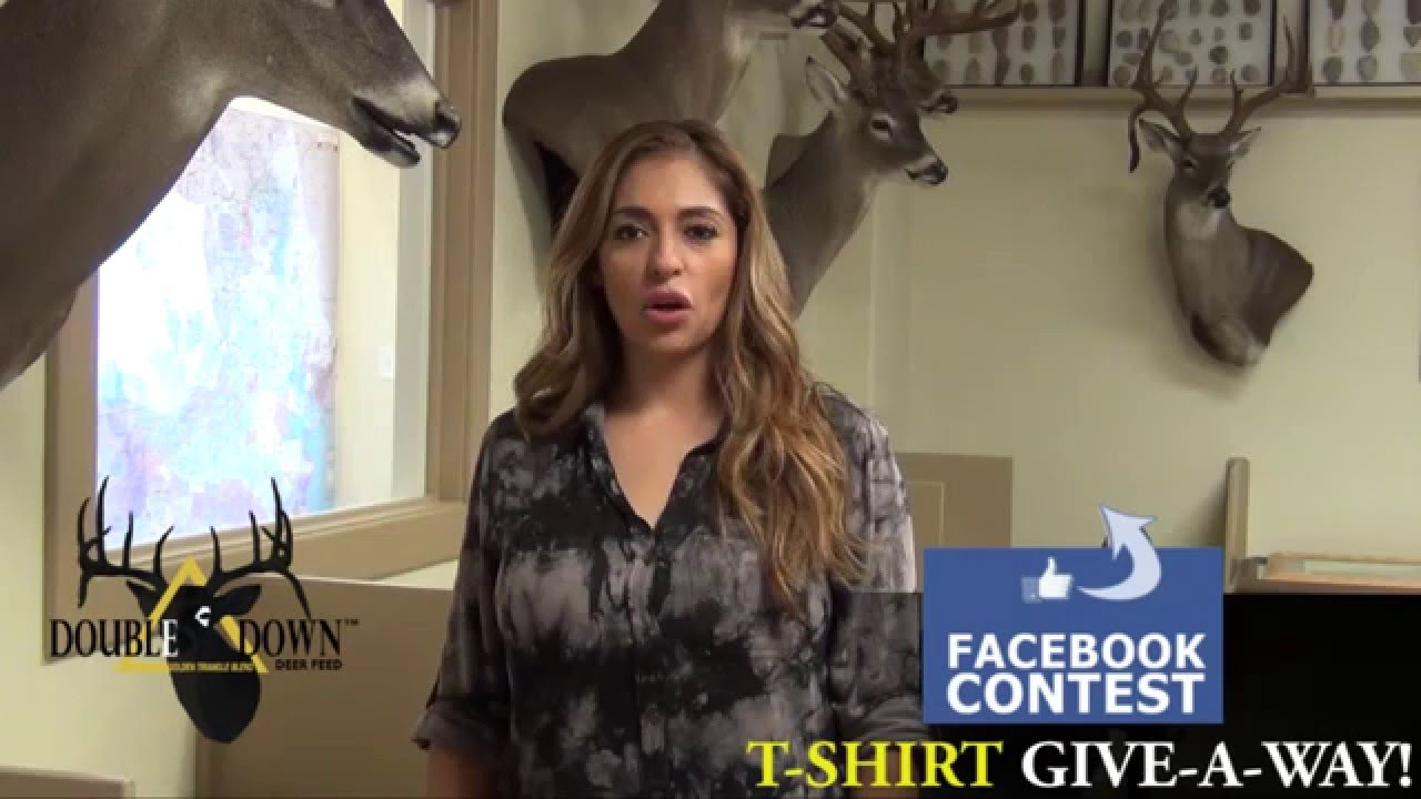 Facebook t shirt contest double down deer feed youtube for T shirt ads on facebook