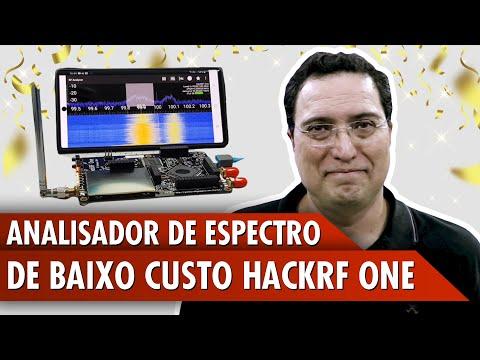 Analisador de Espectro de baixo custo HackRF one