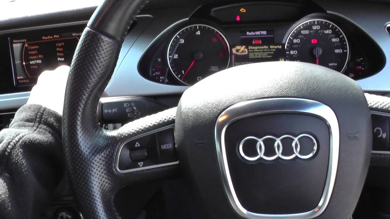 2016 Audi Q5 >> Audi A4 B8 Check Engine Light Diagnose O2 P1116 iCarsoft i908 Part 1 - YouTube