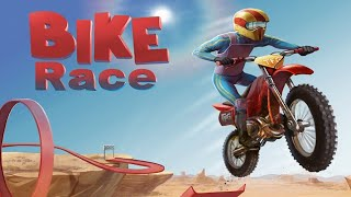 Bike race game free, for android and ios. Fun, tricky and exciting!