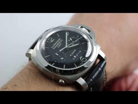 Panerai Luminor 1950 Chrono Monopulsante 8 Days GMT Acciaio PAM 275 Watch Review