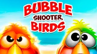 Bubble Shooter Birds. Lets play. Funny game.