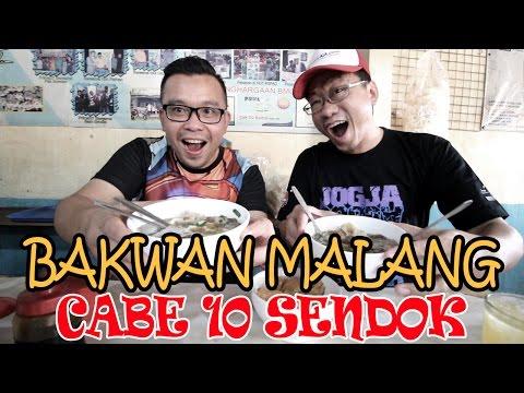 BUSYET SAMPAI ANTRI!!! MAKAN BAKSO BAKWAN MALANG CAK SU KUMIS DI RAWAMANGUN