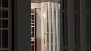 토요토미 창문형 에어컨 가동영상 두번째