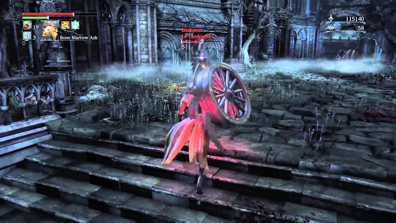 Bloodborne weapon upgrade matchmaking