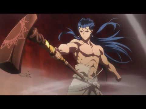 Fate Grand Order - First Order: Caster Cu Chulainn vs Alter Saber