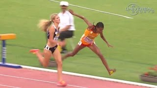 Emma Coburn wins Steeplechase 2014 Continental Cup - Universal Sports
