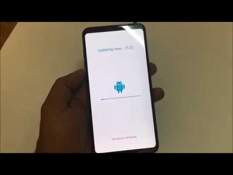 LG V30 Software update official