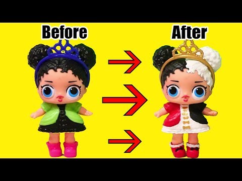 Painting Fake L.O.L. Surprise Babies ! Toys and Dolls Fun for Kids Drawing & Painting LOL Dolls