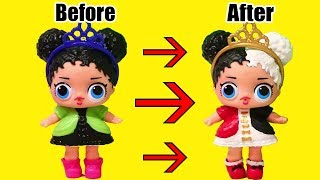 Painting Fake LOL Surprise Babies ! Toys and Dolls Fun for Kids Drawing & Painting LOL Doll | SWTAD