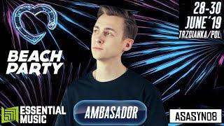 ZOSTAŁEM AMBASADOREM FESTIWALU! | Asasyn08 /w Essential Music