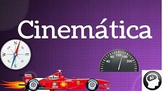 Cinemática, velocidad, desplazamiento, distancia, gráficas