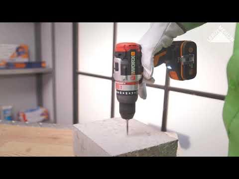 Taladro Percutor Worx 20 V Slammer - Leroy Merlin España