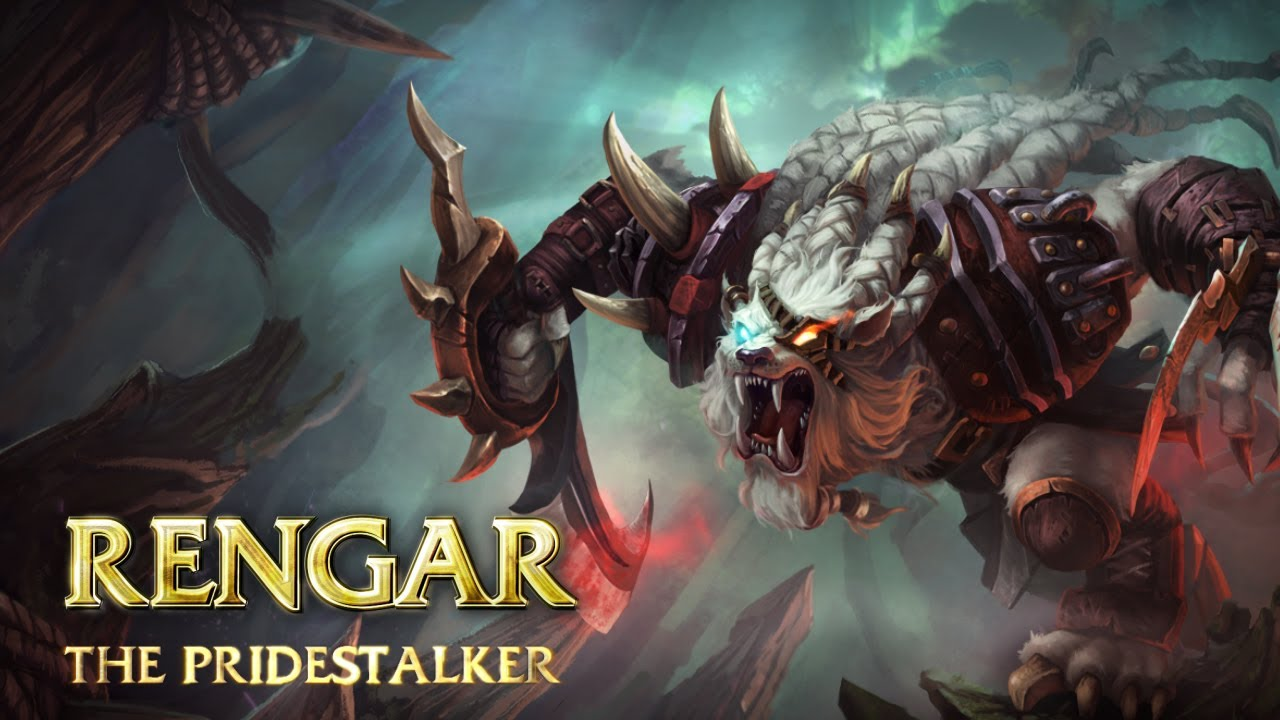 | Rengar Champion Spotlight | - Watch the League of Legends Champion Spotlight featuring Rengar, the Pridestalker, with expert strategy and tactics by Riot Games.