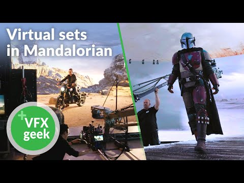 Virtual sets in Mandalorian - VFX & Unreal engine