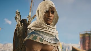 Assassin's Creed Origins Gameplay! Xbox One X 4K! New Eagle Vision, Skills, and Combat!