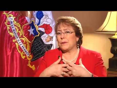 Entrevista a Michelle Bachelet  (02.11.2014)