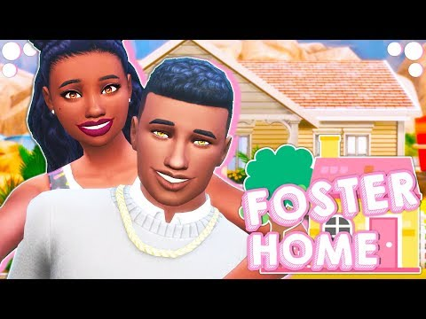 THEIR FIRST FOSTER KID���� // THE SIMS 4 | FOSTER HOME CHALLENGE #1