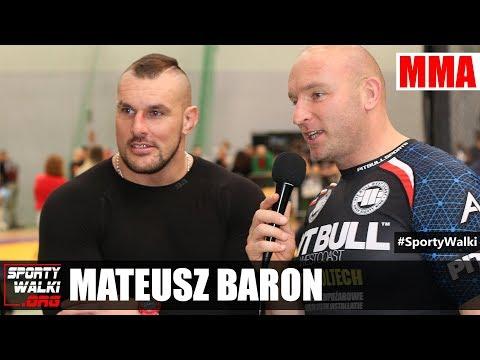 Mateusz Baron zadebiutował w MMA: Idę w ślady Tyberiusza Kowalczyka
