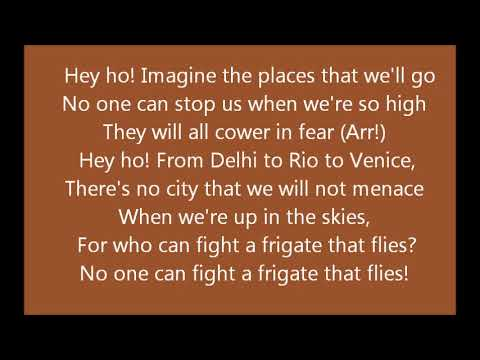 Tinkerbell The Frigate That Flies (Lyric Video)